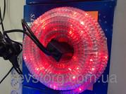 Дюралайт LED 10м с контроллером светодиодный красный
