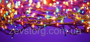 Гирлянда на елку 400л разноцветная