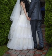 Счастливая невеста в этом платье станет счастливей)