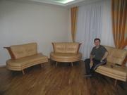 Кожаный модульный диван KLER