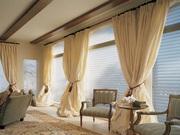 Пошив штор,  гардин,  римских штор,  покрывал,  подушек и др.