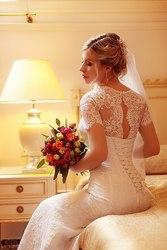 Продам свадебное кружевное платье
