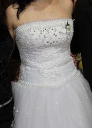 Красивое свадебное платье б/у