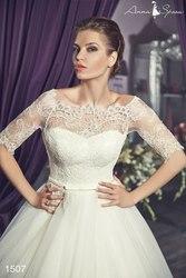 Элитное свадебное платье коллекции 2016,  Анны Споза
