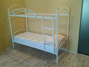 Кровать металлическая двухъярусная Сенс