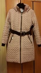пальто пуховик зимнее б/у в отличном состоянии 1250грн0грн