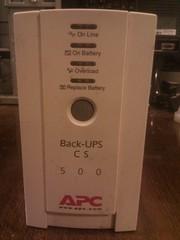 UPS Блок без перебойного питания Black-UPS CS 500VA