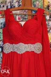 Выпускное платье 42- 46 , (шнуровка)