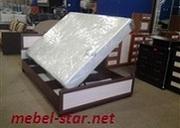Кровать с матрасом и подъемным механизмом «Морфей»