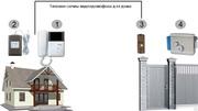 Установка Домофонов видеодомофонов аудиодомофонов,  Commax,  Kenwei,  Koc