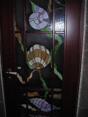 Иготовление дверей в стиле ТИффани.