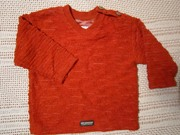 Кофточка оранжевая нарядная. Бу.