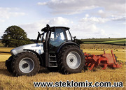 Стекло для сельхозтехники к тракторам,  комбайнам
