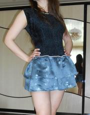 Платье с жемчугом для Барби
