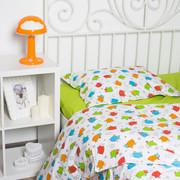 Комплекты постельного белья в кроватку для новорожденных,  Овечки цвет