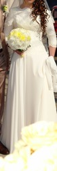 Свадебное платье 2015 года, шито под заказ!!!