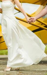 Свадебное платье,  легкое воздушное стильное