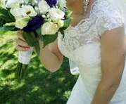 Продам счастливое свадебное платье по хорошей цене с возможным торгом)