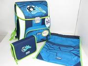 Ранец школьный ортопедический  Hama Step By Step Soccer Blue BaggyMax