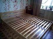 Кровать lдеревянная  двухспальная