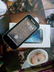 Телефон Lenovo A706 White 2 сим-карты