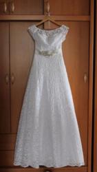 Продам Свадебное б/у платье