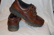 Кожаные туфли фирмы ECCO