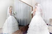 Роскошное и элегантное свадебное платье