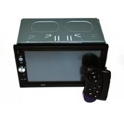 Автомагнитола 2Din 7023CRB 7 Экран,  Bluetooth,  Читает ВИДЕО+ Пульт на руль+Рамка+Шахта!