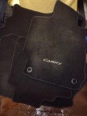 Коврики Toyota Camry 4 шт комплект. Текстиль.
