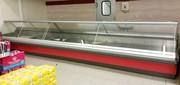 Витрины холодильные б/у торговые