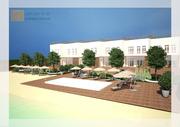 Проекты таун-хаусов,  клубных домов,  коттеджных поселков