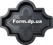 Формы для тротуарной плитки Клевер узорный 4, 5см
