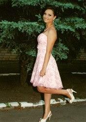 Выпускное платье нежно-розового цвета