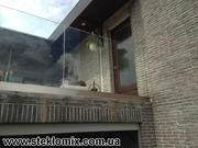 Ограждения из стекла и стеклянные перила от производителя
