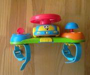 Музыкальный руль на коляску Blue box