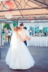 Волшебное свадебное платье на миниатюрную невесту!
