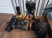 Nikon D3100 + 18-55 + 55-300 + штатив + сумка + BatteryGrip