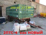 Прекрасный 2ПТС-4 прицеп тракторный б/у