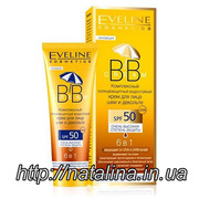 Eveline Cosmetics ВВ Cream Комплексный крем 6в1 SPF50