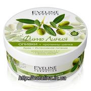 Eveline Фито Линия Питательный крем для тела Оливки и протеины шелка