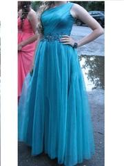 Вечернее платье,  с корсетом