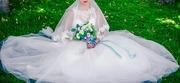 Свадебое платье цвет айвори