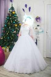 Срочно продам шикарное белоснежное платье !!!