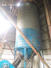 Бункер для хранения и сушки зерна