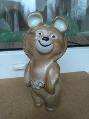 Продам статуэтку олимпийский мишка