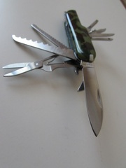 Нож перочинный многофункциональный фирменный Corsica Франция