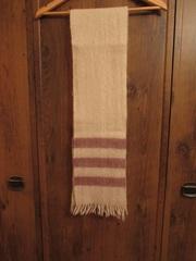 Шарф женский шерстяной с бахромой длина 2,  45 м