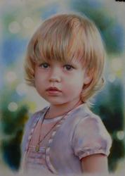 Как подарок портрет по фото на заказ Днепр