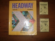 Headway students book PRE-INTERMEDIATE + two cassettes